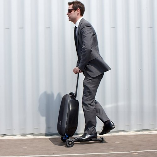 jaymug:  Micro Luggage Scooter