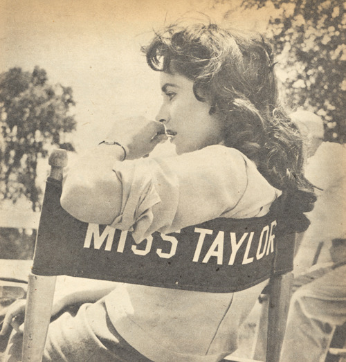 Elizabeth Taylor, Screen Album, November-January 1955-1956