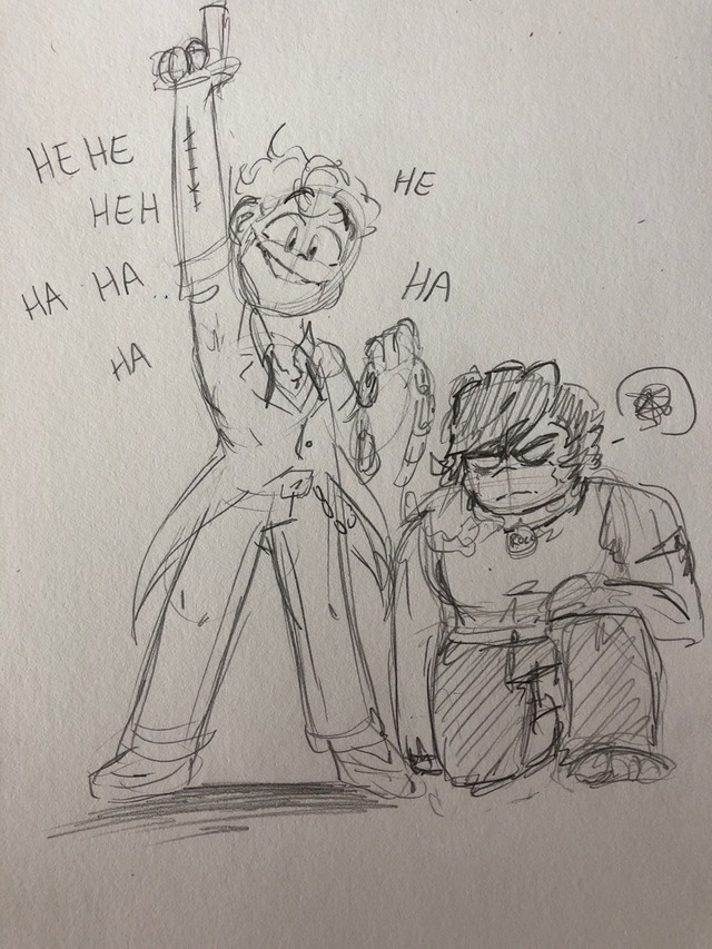 Let's go on a heist!Corrupted Cole is like JJ's dog lol. Feeds him cake. It's the only time he's ever truly happy #corrupted cole#corrupted jay#JJ#rock boy#jay walker#cole brookstone