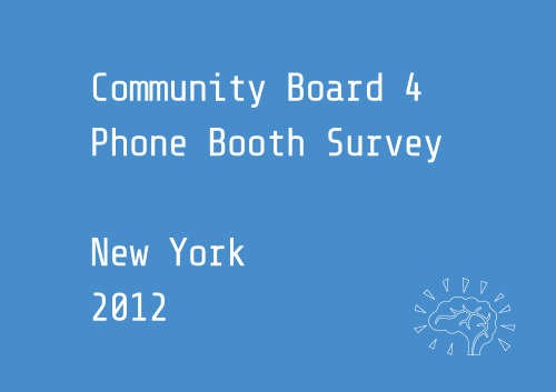 Less Phone BoothsManhattan Community Board 4 The current contract between New York City and phone booth operators expires in 2014. The Department of Information Technology (DoITT) is working with the public and vendors to envision new technology capabilites for future phone booths to be incorporated in the new contract.  At the same time, it is important that the public informs the Community Boards and DoITT of those installations that have been problematic and need to be removed so that such removals be incorporated in the future contract. This interactive map created by Manhattan Community Board 4's Transportation Committee gives you the chance to indentify and comment on these installations. http://www.lessphonebooths.org/