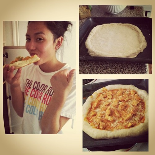 Perrrrfect we did it 🍄🍕@rakhastar