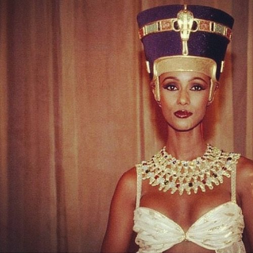 thomasthegreat:  Queen Iman.