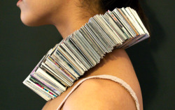 Wearable Book Collar by Mischa Rivera / posted by ianbrooks.me