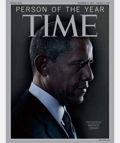 Person of the year, President Barack Obama. Time Magazine Cover
