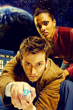 Doctor Who in promotional images