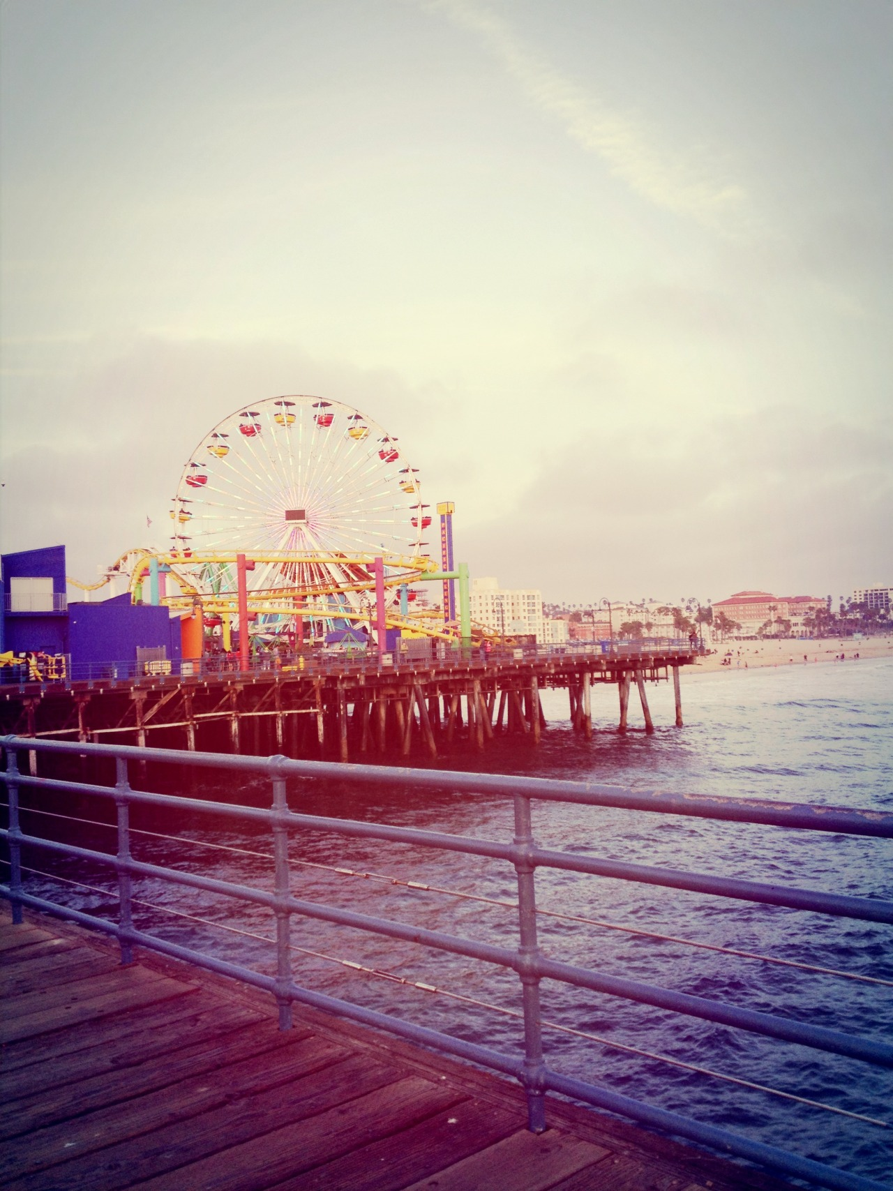 Santa Monica Pier. take me back!