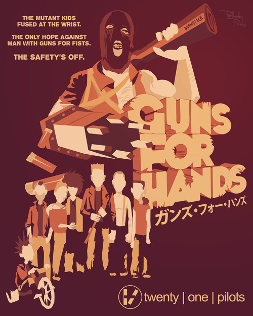 Twenty One Pilots - Guns For Hands [16x20 Poster]