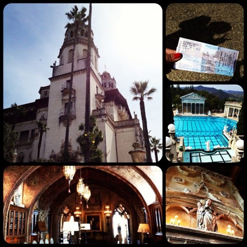 #hearstcastle #old #vintage #classic #fantastic #tour #bdaytrip #bdayfun #pool #castle #lights #gothicart @branton27  (at Hearst Castle)