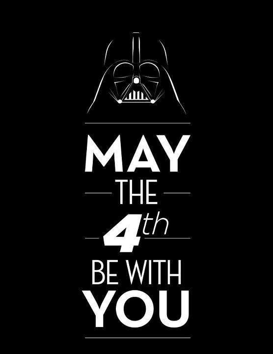from-the-stone-to-the-hallows:  Happy Star Wars day to you! May the 4th be with you. Always.