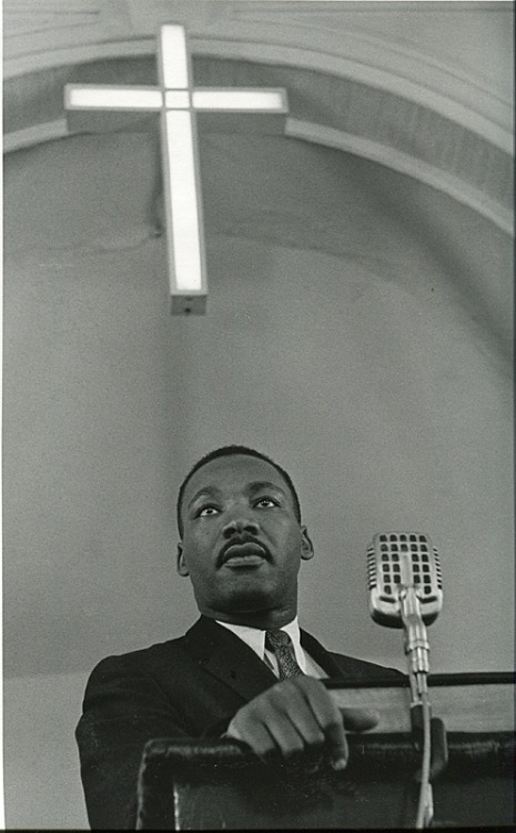 MLK Jr., 1958 By Charles Moore