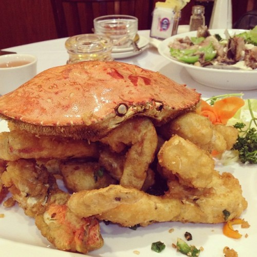 😍 @sexychulaa4eva #crab #chinese #food #fried