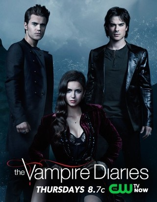 "I'm watching The Vampire Diaries    ""tough episode :(""                      374 others are also watching.               The Vampire Diaries on GetGlue.com"