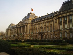 Royal Palace in Brussels.