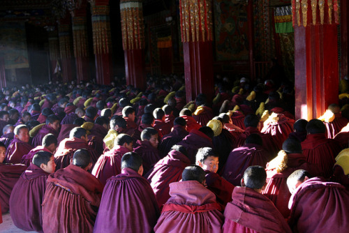 Photo: Kirti Monastery (2005), by Committee of 100 for Tibet http://bit.ly/ZbPXKm