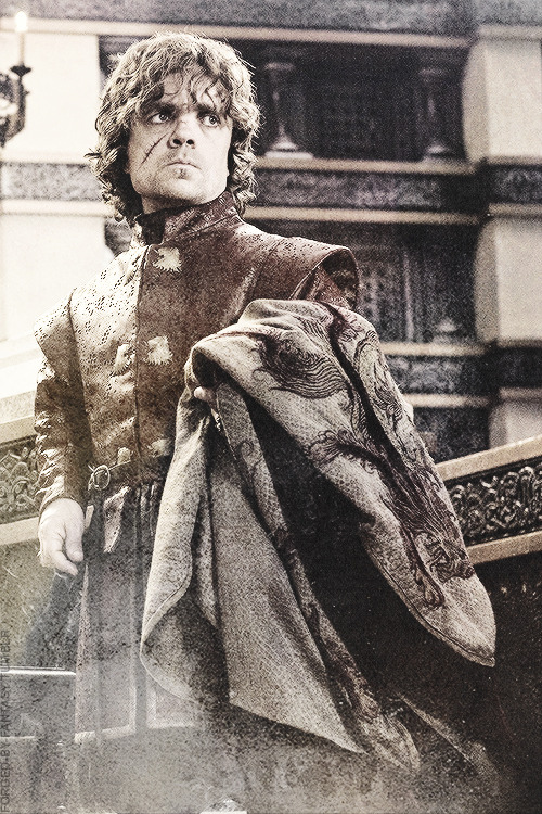 "forged-by-fantasy:  Tyrion Lannister  | 3x8 ""Second Sons"""