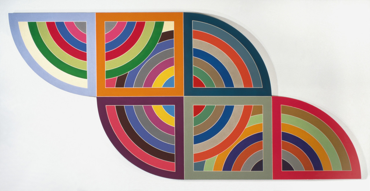 showmethe-monet:  Frank Stella Harran II 1967