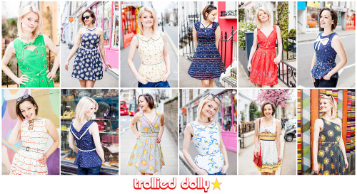 I once again had the privilege of shooting Trollied Dolly's new Spring/Summer collection. Here's a selection of images from the shoot at Portobello in London. www.charlottesteeples.com
