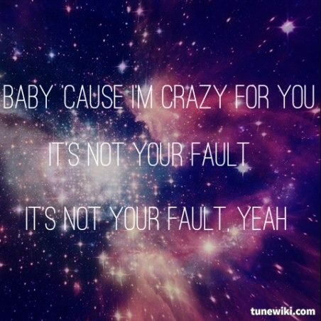 Not Your Fault Lyrics by AWOLNATION