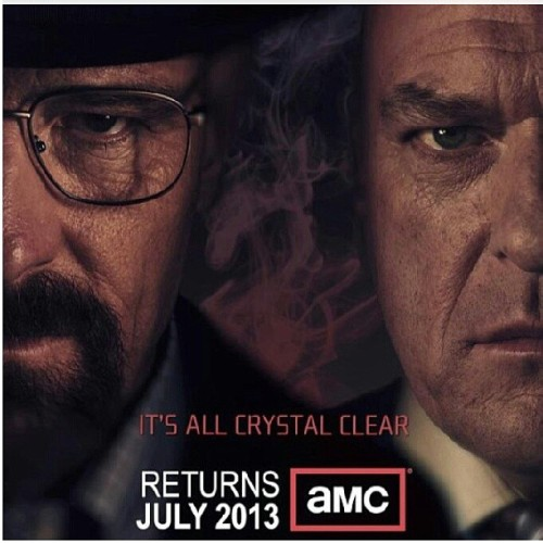 Cantwait for this show to come back on! #breakingbad #amc