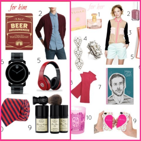 VALENTINE'S DAY GIFTS FOR HIM AND HERby Grasie Mercedes http://bit.ly/VGg8SR