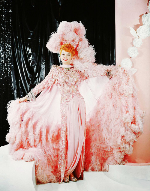 Lucille Ball in Ziegfeld Follies (1945) see Lucy dancing in this film here and here
