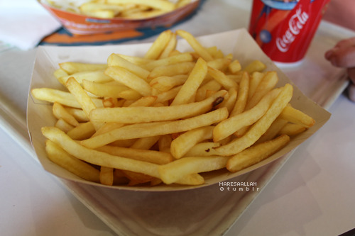 h0lllister:  these fries were so good.
