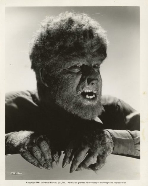 ronaldcmerchant:  Lon Chaney Jr-the WOLFMAN (1941)