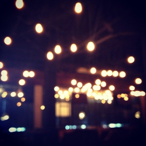 #bokeh #lights #interior  (at URBN Bar & Kitchen)