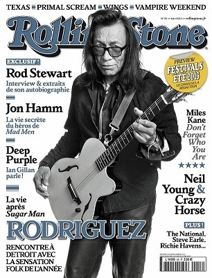 lightintheatticrecords:  Rodriguez on the cover of the French Rolling Stone Magazine!  Rodriguez! Man has my uttermost respect.