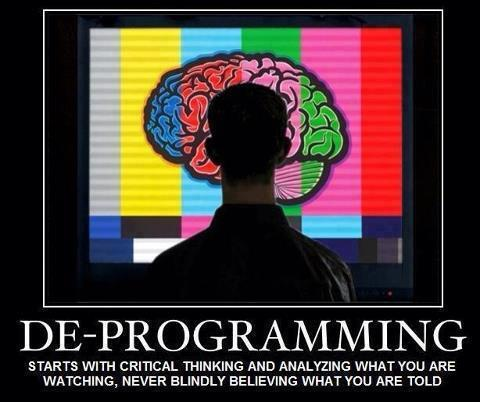 De-Programming Starts With Critical Thinking & Analyzing What You're WatchingAnalyze This…An abrasive analysis of popular culture under the spectacle of postmodern capitalism. Music by Synthamesk. Warning: This video may induce seizures.