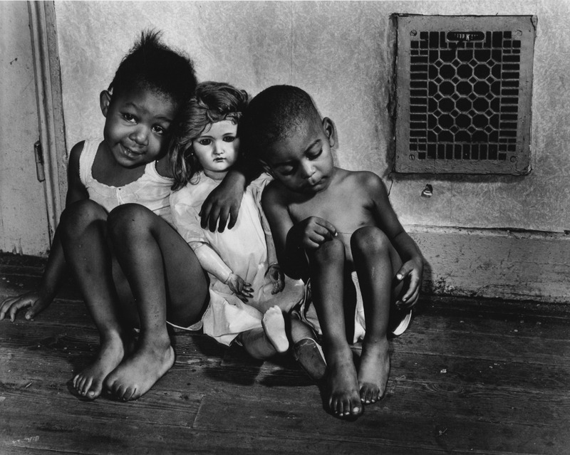 Ella Watson's Grandchildren, 1942. By Gordon Parks