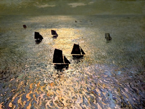 William Frederick Ritschel (1864 - 1949) - Boats Returning Home