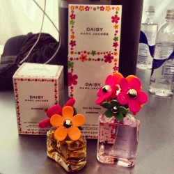 Now previewing backstage @MarcJacobsIntl: his new Daisy Eau So Fresh Sunshine perfume, out in March. CE #nyfw #sephora