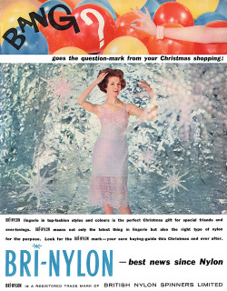 Bri-Nylon advertisement. by totallymystified on Flickr.