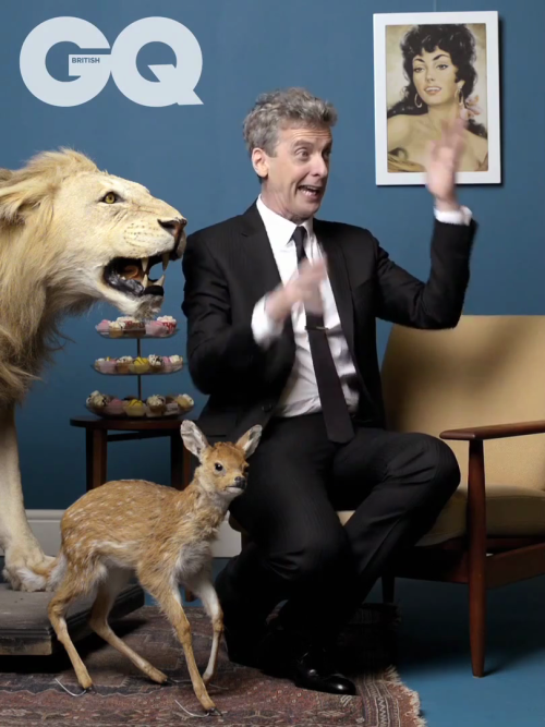 RAWR fuckyespetercapaldi:  Don't know if I already posted this but OMFG I can't stop laughing