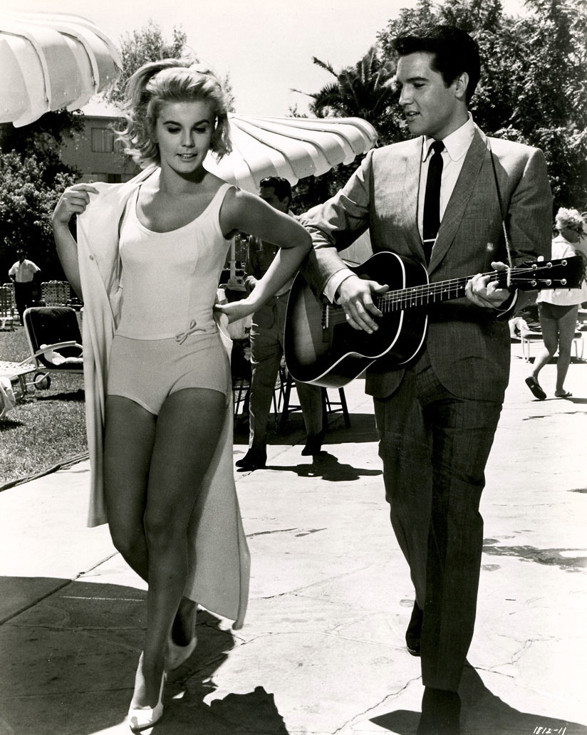 theswinginsixties:  Elvis Presley and Ann Margret in 'Viva Las Vegas',.1964