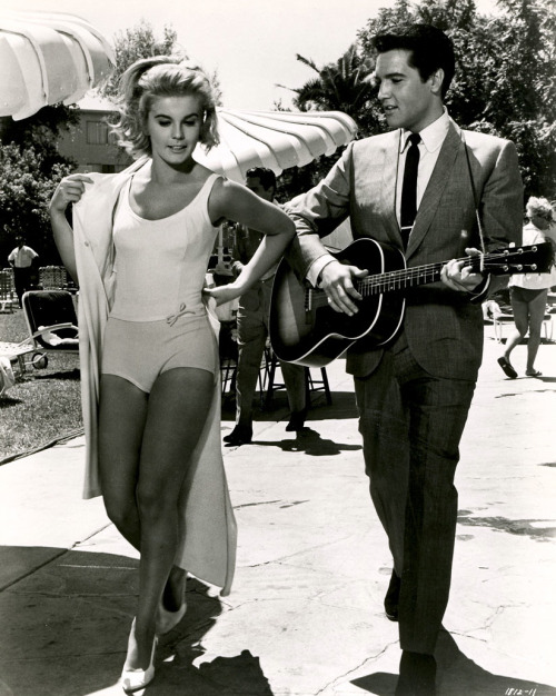 Elvis Presley and Ann Margret in 'Viva Las Vegas',.1964