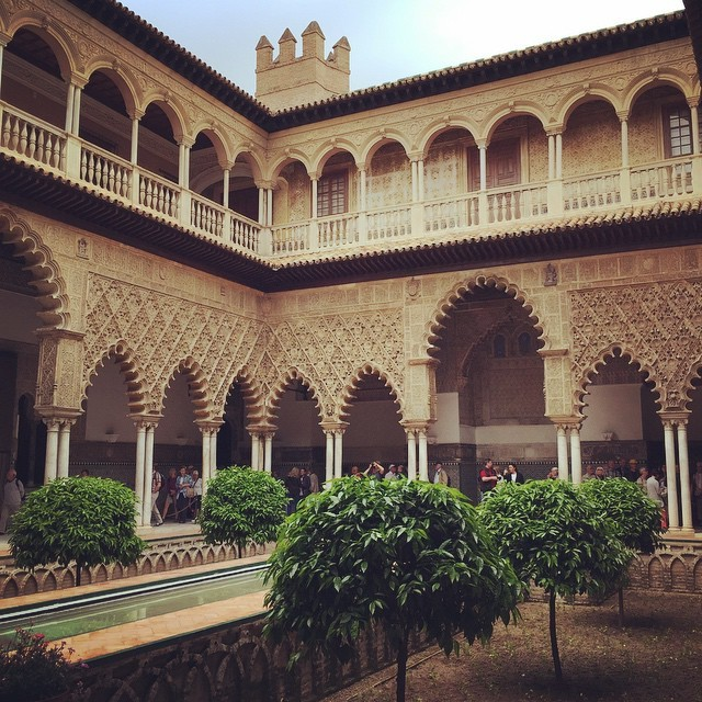 Game of Thrones filmed here for upcoming episodes set in Dorne! #seville #alcazar (at Alcázar of Seville)