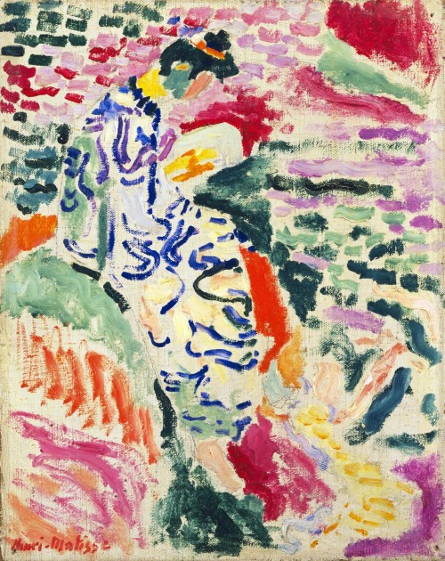 trioxic:  Henri Matisse (French, 1869–1954) La Japonaise: Woman beside the Water