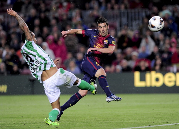thevipfootballcollection:  FC Barcelona Vs Real Betis - La Liga May 5th 2013