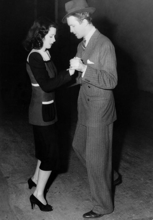 lars134:  Jimmy Stewart and Hedy Lamarr