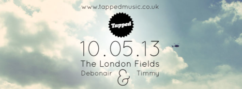 Timmy & Debonair will be holding it down in The London Fields this friday. Free in and dancing until 3am - can't say fairer than that.