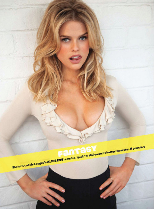 Alice Eve… AKA: Carol Marcus for Star Trek into Darkness