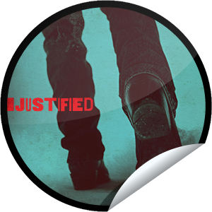 I just unlocked the Justified Season 4 Episode 10 sticker on GetGlue                      3048 others have also unlocked the Justified Season 4 Episode 10 sticker on GetGlue.com                  If you see Raylan walking away, count yourself lucky. It means you're still alive. Share this one proudly. It's from our friends at FX.