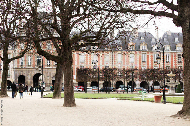 | ♕ |  Place des Vosges - Paris  | by © Carin Olsson