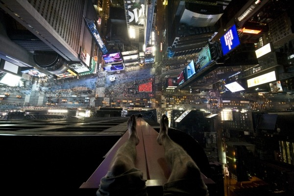 Times Square from Above!