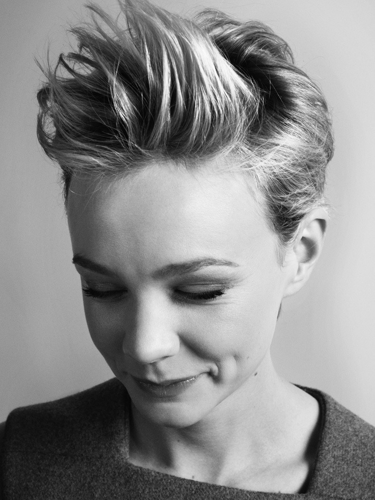 Carey Mulligan - Elle UK by David Slijper, January 2011