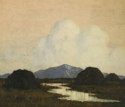 beardbriarandrose:  Paul Henry, Evening in the West of Ireland