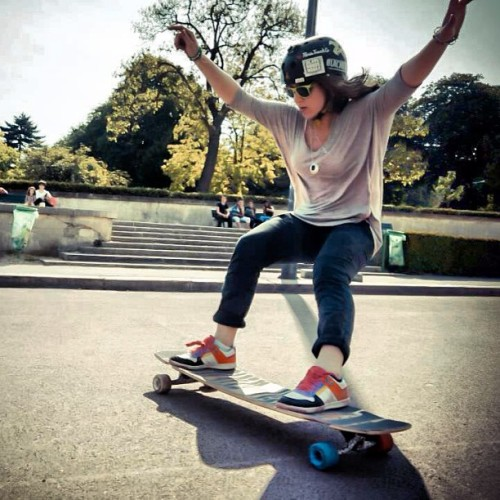 Check Manouk's standup from Longboard Girls Crew France! (Previously posted by @longboardgirlscrew)