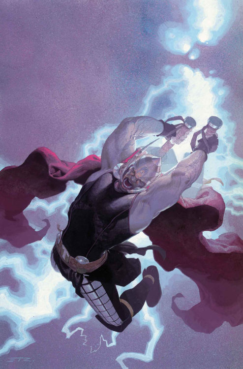 Thor: God of Thunder #11 cover by Esad Ribic   Oh. OH.